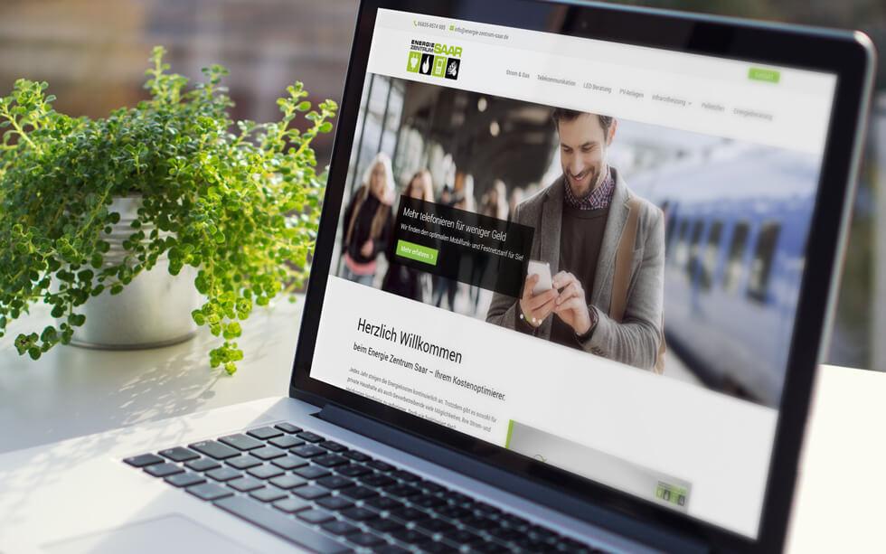 Neue Website für das Energie Zentrum Saar aus Rehlingen-Siersburg