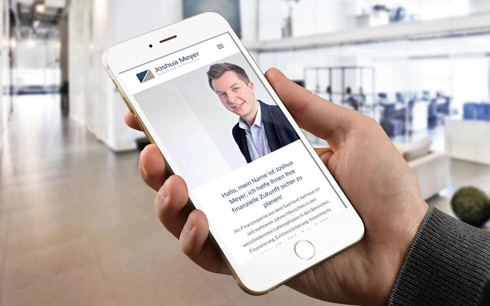 Neue Website für den Finanzberater aus Saarlouis