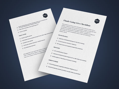 WordPress Kurs Bonus - Finale Website-Checkliste